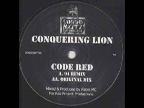 conquering lion code red 94 remix youtube conquering lion code red 94 remix