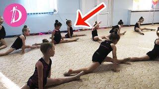 Влог Я как Мисс Николь / Открытый урок по гимнастике