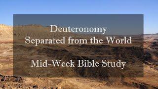 Deuteronomy - Week 4