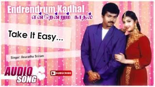 Take it Easy Song | Endrendrum Kadhal Tamil Movie | Vijay | Rambha | Manoj Bhatnagar | Music Master