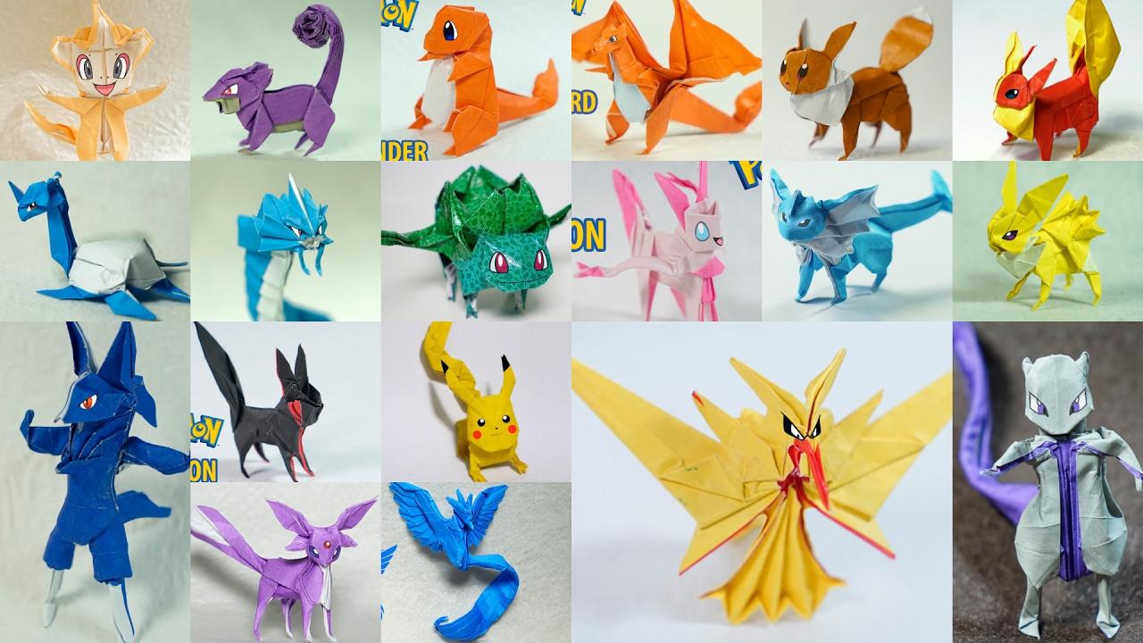 All Origami Tutorial Handmade Livre Racer Muneji Paper Pokemon Timelapse By Henry Pham