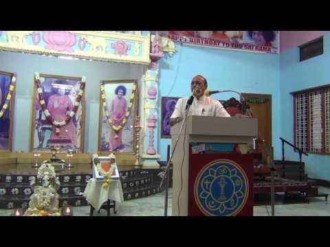 Samarpan talk by Sri.K R Vedanarayanan on December 18th 2016 at Bhel Hyderabad