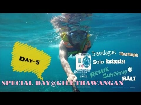 Travelogue d'Bali Day-5(Special Day@Gili Trawangan)