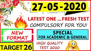 IELTS LISTENING PRACTICE TEST 2020 WITH ANSWERS | 27-05-2020