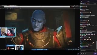 Shroud Reacts To Destiny 2 PC Trailer