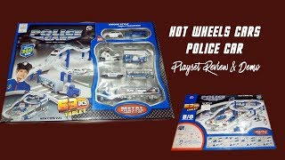 Hot Wheel Cars   Police Car Plays Set Review and Demo