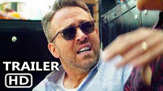 HITMAN'S WIFE'S BODYGUARD Trailer (2021) Dupla Explosiva 2, Ryan Reynolds, Ação