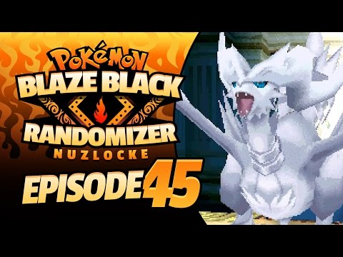 WHAT IS IT RANDOMIZED TO?! - Pokemon Blaze Black Randomizer Nuzlocke - 45