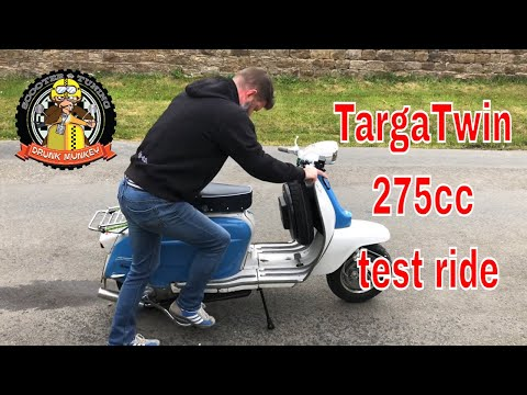 TargaTwin 275cc scooter test ride