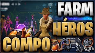 COMPOSITION HEROS FOR THE FARM - FORTNITE SAUVER THE WORLD