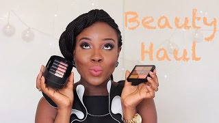Beauty Haul| First Video of 2015 Thumbnail
