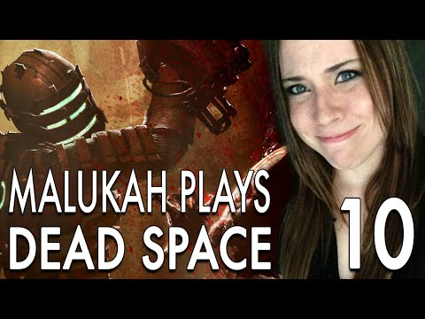 Malukah Plays Dead Space - Ep. 10: Santa Goes Up the Chimney