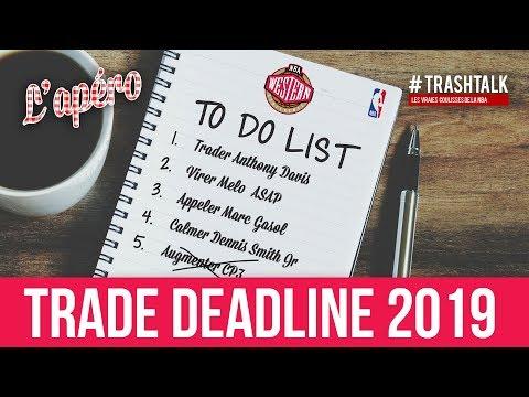 NBA Trade Deadline 2019 : on fait le point sur toutes les équipes de l'Ouest ! thumbnail