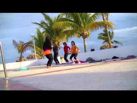 HIPrana Bahamas Yoga Dance