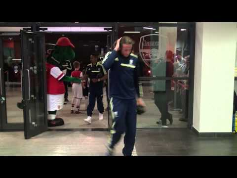 West Bromwich Albion arrive at Arsenal's Emirates Stadium ahead of Premier League game