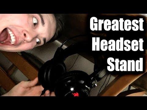 Desk Headphone Stand Mount Elevation Lab The Anchor Under