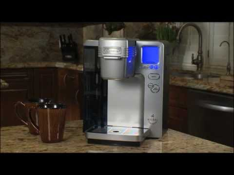 Coffee Pot Recall Cuisinart : Cuisinart Single Serve (SS-700) Maintenance Video: Removing mineral Deposits by Descaling - YouTube