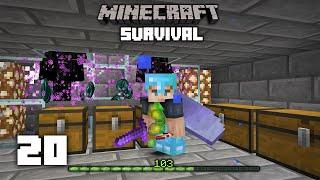 Minecraft: Easy OP Enderman XP Farm - 1.16 Survival Let's play | Ep 20