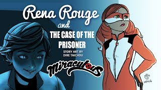 """RENA ROUGE AND THE CASE OF THE PRISONER"" Miraculous Ladybug Comic Dub 