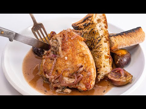 How To Make Skillet Chicken With Figs By Rachael