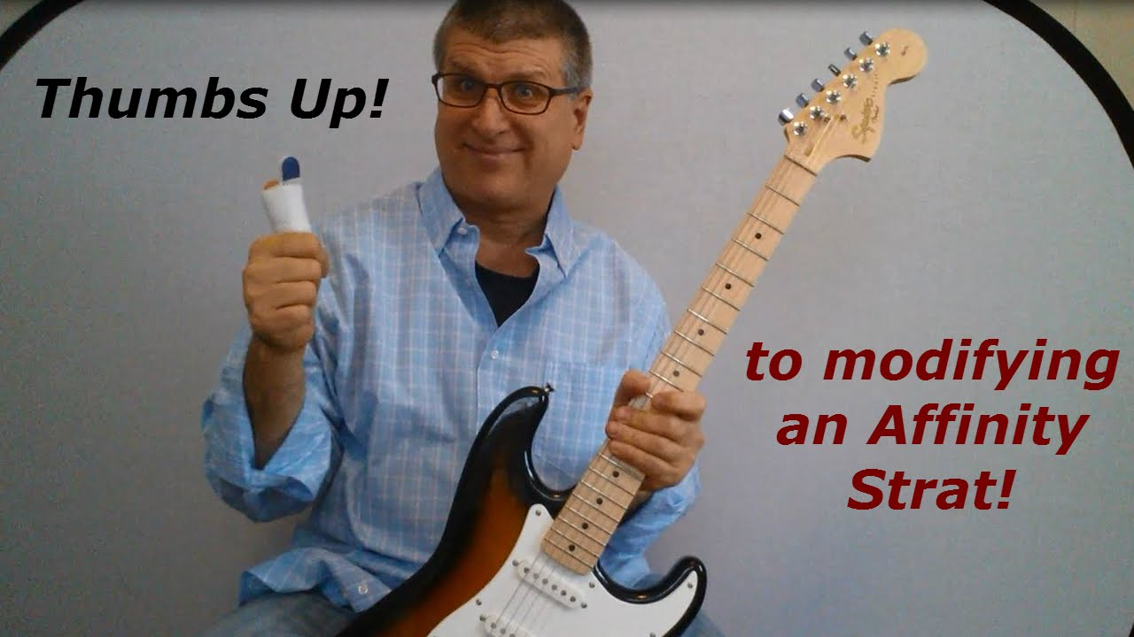 Modifying a Squier Affinity Strat: Baseline