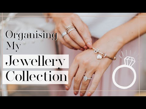 MY HUGE JEWELLERY COLLECTION ✨ Declutter & Organise with Me! ✨ Fashion Mumblr