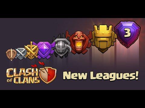 Clash of Clans - New Update! Titan & Legend League (New Leagues)(Sneak Peek) - YouTube