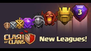 Clash of Clans - New Update! Titan & Legend League (New Leagues)(Sneak Peek)