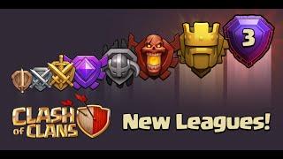 Clash of Clans - New Update! Titan & Legend League (New Leagues)(Sneak Peek)