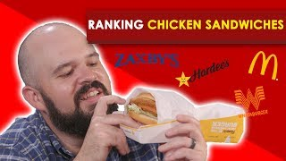 Ranking Chicken Sandwiches | Bless Your Rank