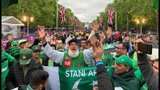 Pakistan Fans Reaction On Streets Of UK / Pak vs New Zealand / Cricket World Cup