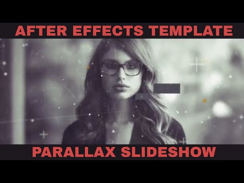Free Digital Parallax Slideshow - Videohive After Effects Template [Free Template+Download Link]
