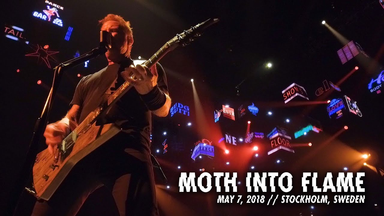 Metallica: Moth Into Flame (Stockholm, Sweden — May 7, 2018)