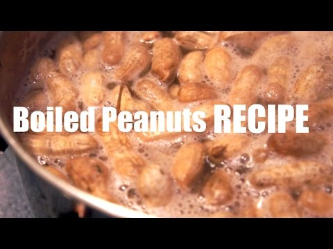 Boiled Peanut RECIPE - You Made What?!