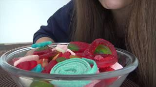 ASMR Haribo Sweets Eating Sounds