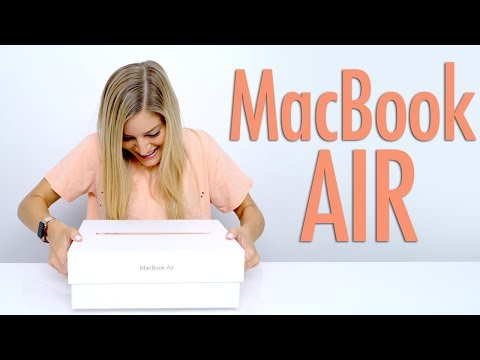 GOLD 2018 MacBook Air Unboxing! Mp3