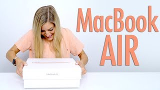 Download GOLD 2018 MacBook Air Unboxing! Mp3 and Videos