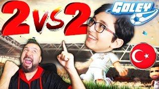 2 vs 2 ONLINE MAÇ YAPTIK! | PROMOSYONLU TÜRKÇE SPİKERLİ GOLEY