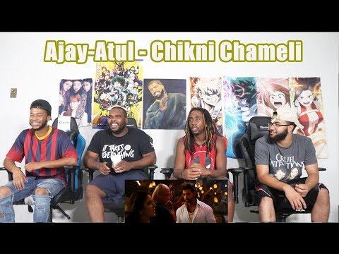 Ajay-Atul - Chikni Chameli  Agneepath  Katrina Kaif Hrithik REACTION