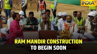 Good News! Work To Fill Foundation For Construction Of Ram Mandir Begins