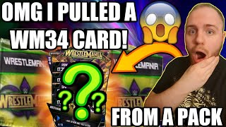 OPENING MORE WRESTLEMANIA 34 PACKS OMG I GOT A WM34 PULL BEST PACK OPENING EVER WWE SuperCard S4