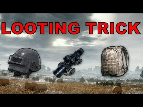 Low Risk HIGH REWARD Looting Tactic for PUBG