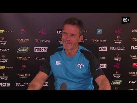 Ospreys TV: Allen Clarke Scarlets reaction