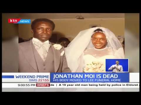 Jonathan Toroitich, son to Retired President Moi dies at 65