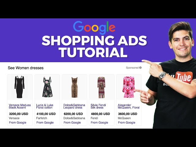 [Darrel Wilson] Google Shopping Ads Tutorial 2021 (Step By Step For Beginners)