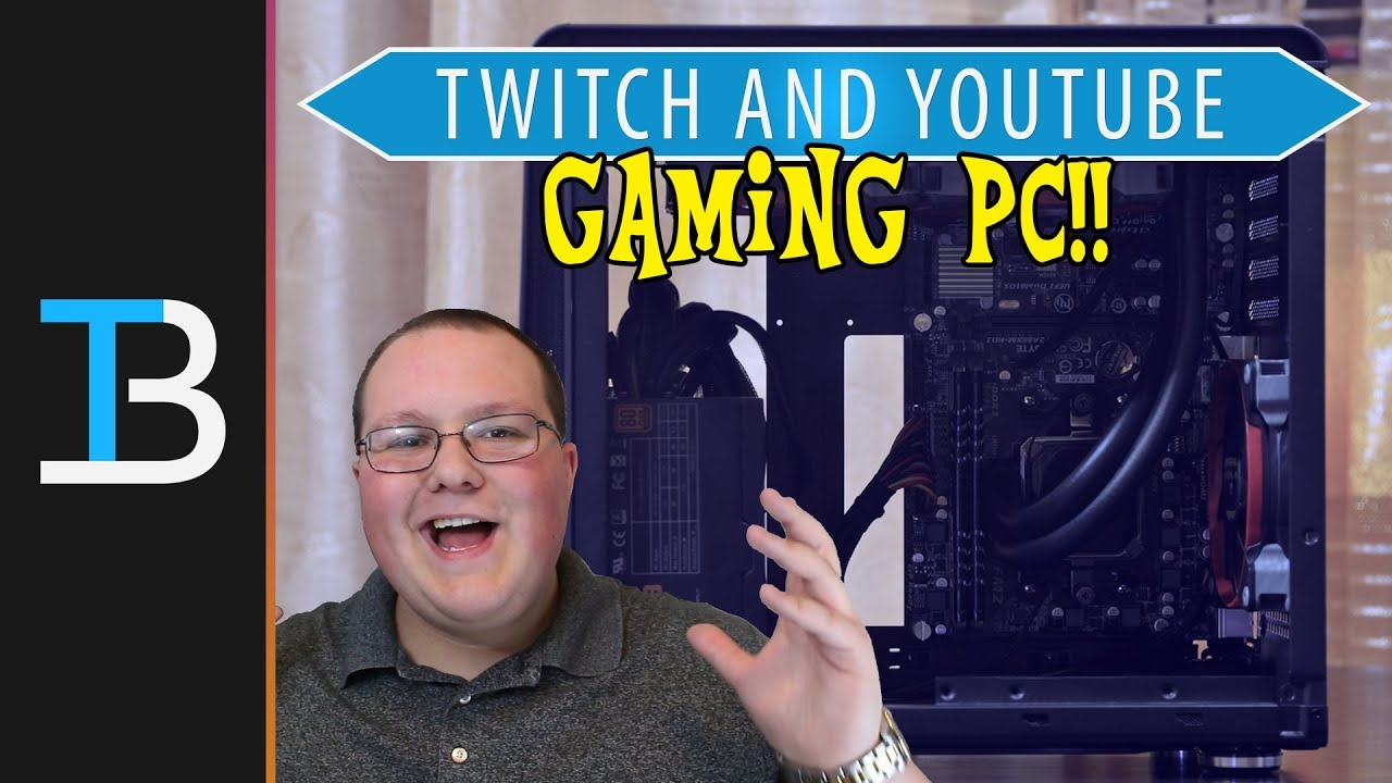High-end gaming pc build for twitch streaming & video editing.