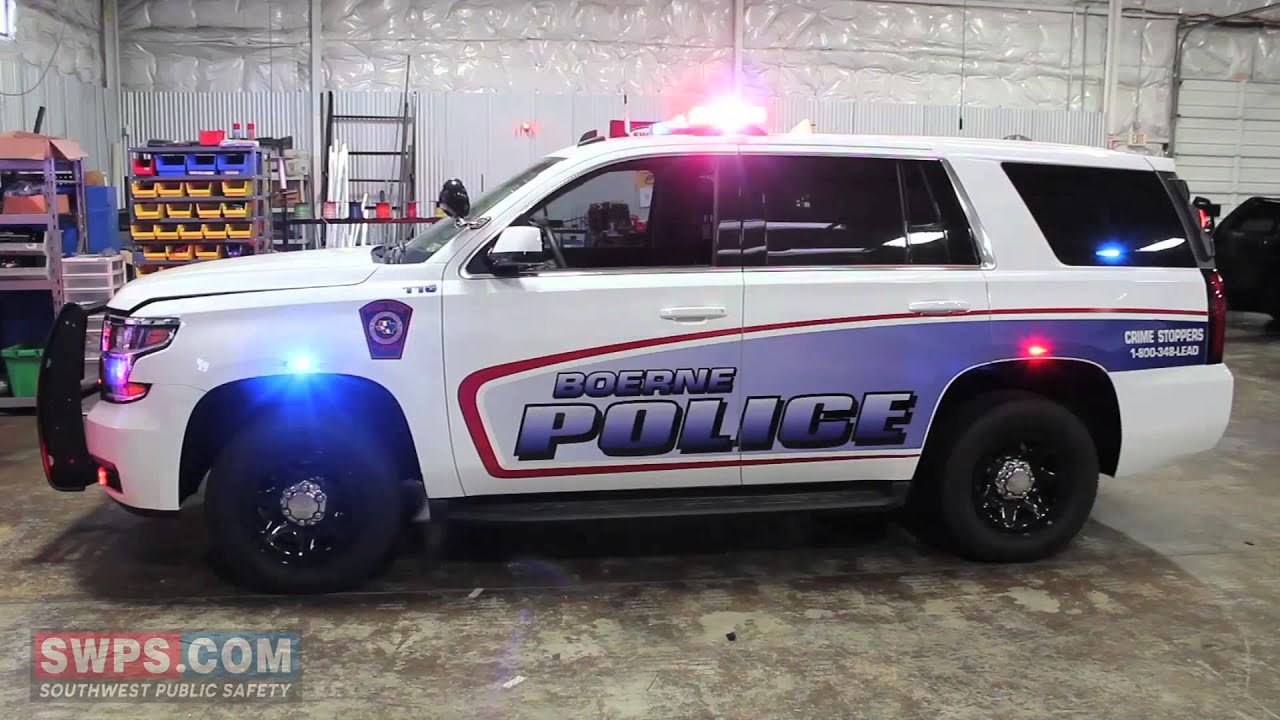 2015 Chevy Tahoe PPV outfitted with Police LEDs/Equipment - SWPS ...