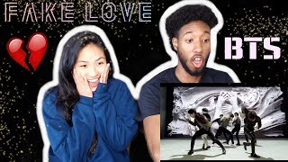 BLASIAN COUPLE REACTS TO BTS (방탄소년단) 'FAKE LOVE' Official MV | REACTION