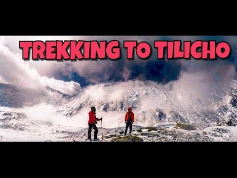 TREKKING TO TILICHO LAKE ANNAPURNA |MANANG |TRAVEL NEPAL