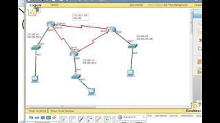 Configuration routage OSPF VLSM Packet tracer  بالدارجة المغربية
